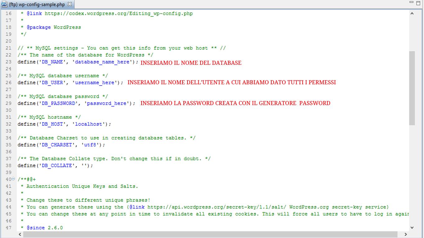 inserire-dati-MySQL-database-su-config