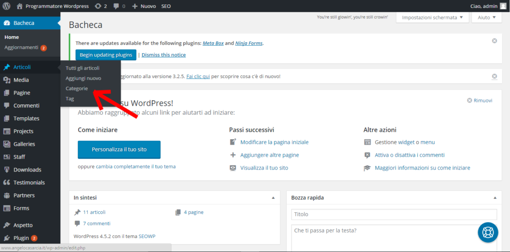 creare-una-nuova-categoria-in-wordpress-premere-categorie