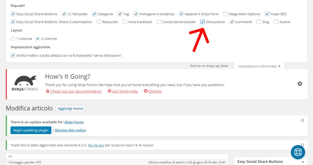disattivare-commenti-wordpress-singolo-articolo-selezionare-discussione