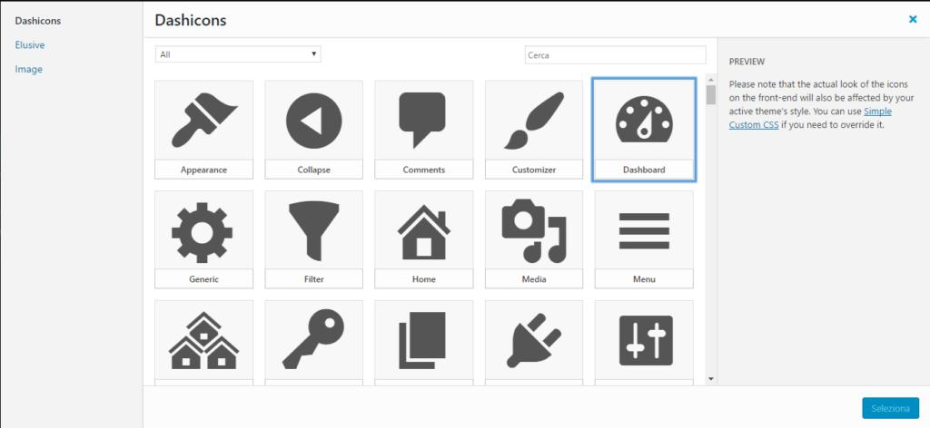 aggiungere-icone-sul-menu-wordpress-selezionare-icona-angelocasarcia-it