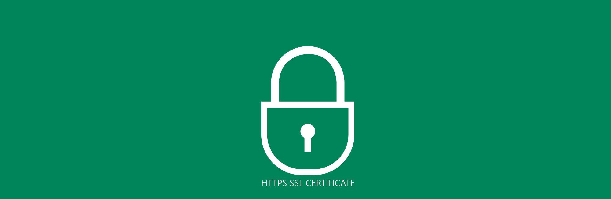 Certificato SSL.