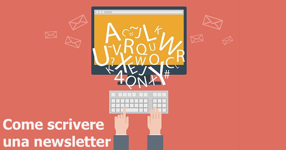 Come scrivere una newsletter.