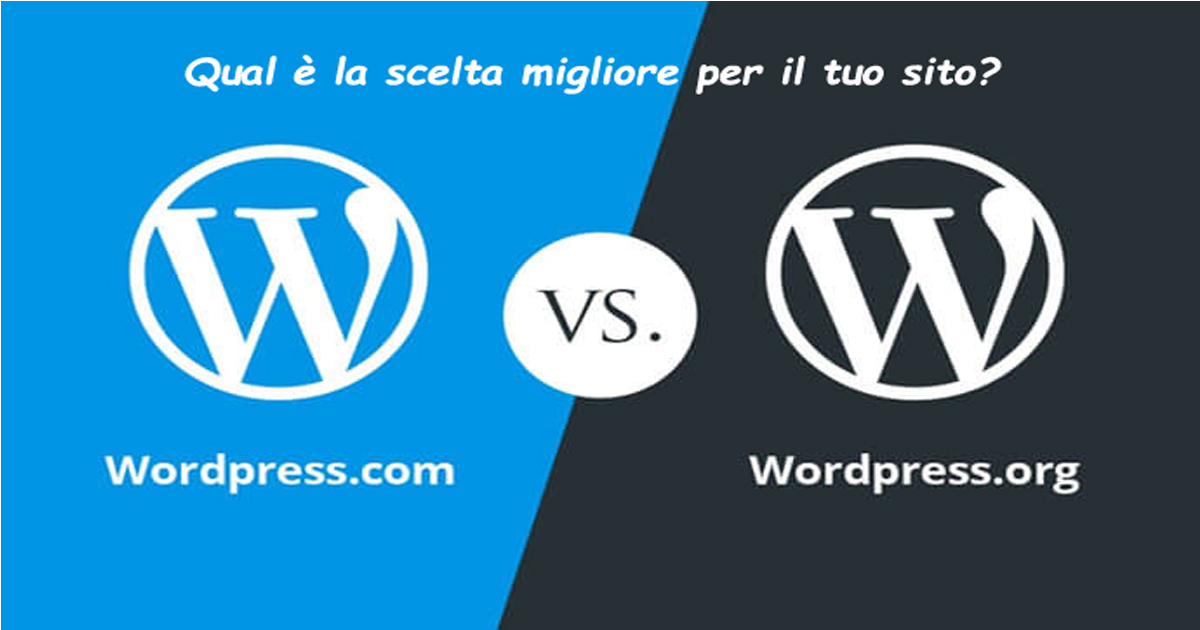 Qual è la scelta migliore tra Wordpress.org e Wordpress.com?