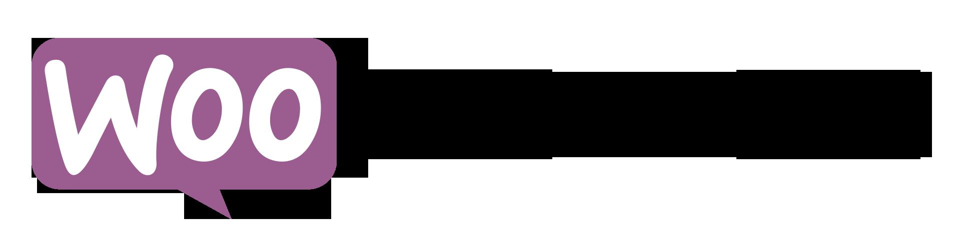 Logo di Woocommerce, plugin di WordPress.