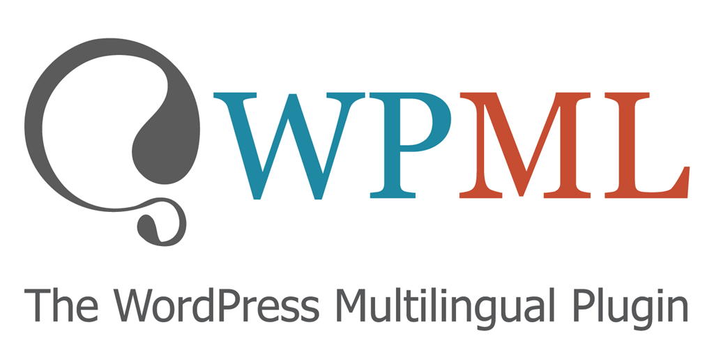 Logo di WPML, plugin di WordPress.