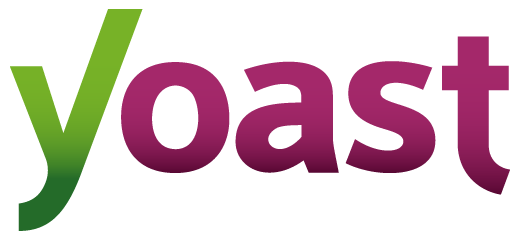 Logo di Yoast SEO, plugin di WordPress.