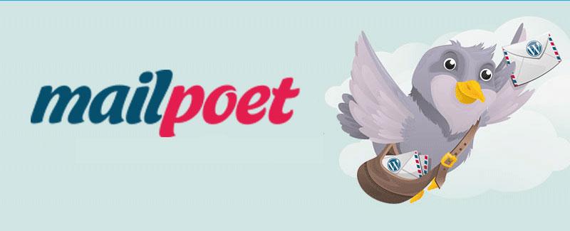 Logo di MailPoet.