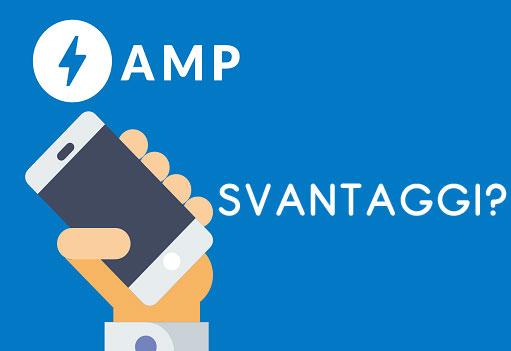 Svantaggi delle AMP