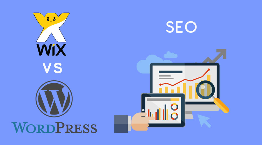Wix vs WordPress : SEO