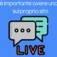 Perchè è importante avere una live chat sul proprio sito