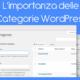 L'importanza delle Categorie WordPress