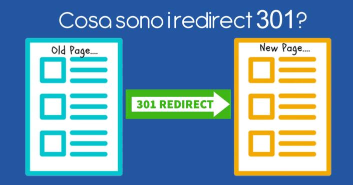Cosa sono i redirect 301?
