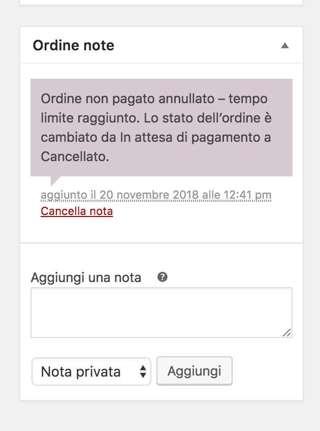 """Risoluzione """"tempo limite raggiunto"""" su WooCommerce: messaggio di errore"""